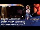 Canção nº 5: Catarina Miranda - Para Sorrir Eu Não Preciso de Nada | Festival da Canção 2018