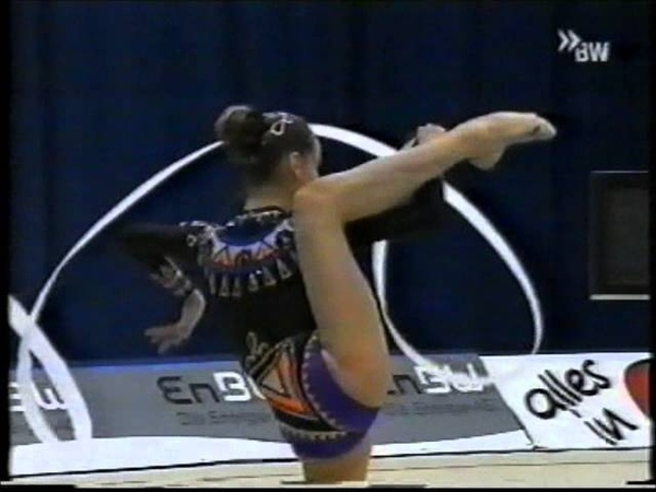 Юлия Барсукова лента финал Кубок Мира 2000 Карлсруэ