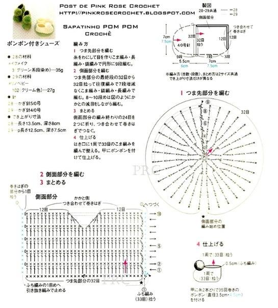 Схема основы для пинеток