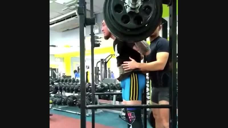 Персональная тренировка Юрия Конева