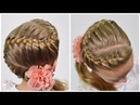 HOW TO: French Braid Snake | Zig-Zag Braid ❀ Quick and Easy hairstyle for girls 59