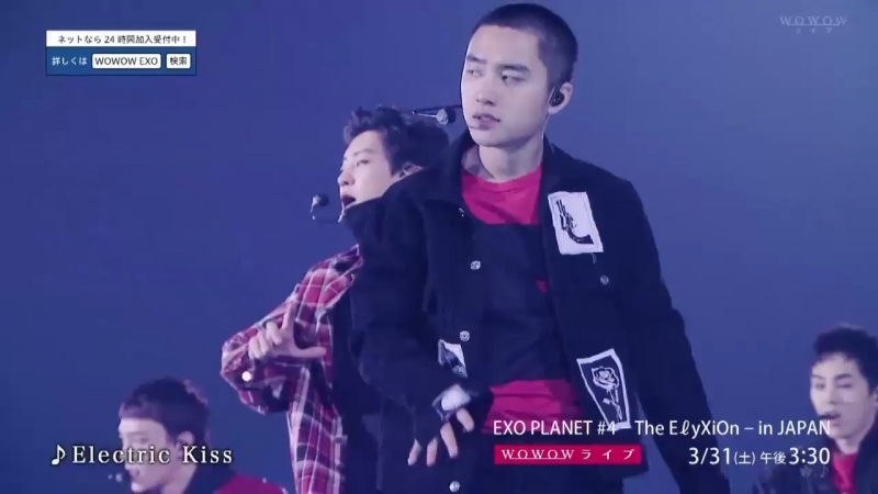 [CUT] 180321 WOWOW: EXO PLANET 4 — The EℓyXiOn in JAPAN @ EXO — Electric Kiss
