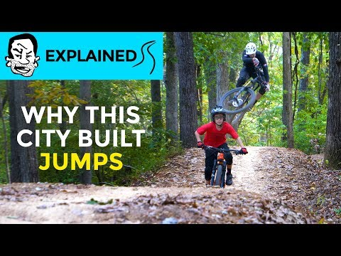 Why cities build MTB parks and how to convince yours Coler in Bentonville AR