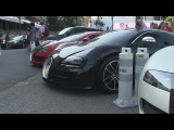 INSANE Bugatti Veyron combo (4X!!) at Hotel de Paris in Monaco