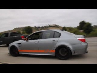 BMW M5 INSANE Sound!!! Huge Accelerations and Revs!!!