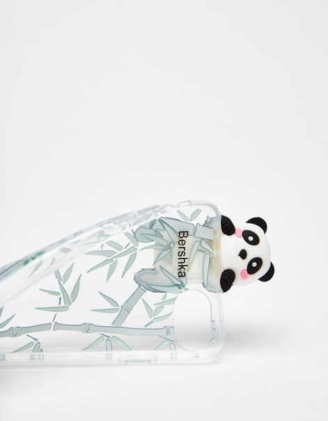 Прозрачный чехол «Панда» для iPhone iPhone 6/6s/7/8
