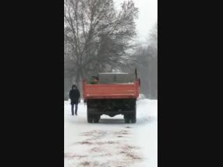 Секретная технология борьбы со снегом впервые применена в Минске.