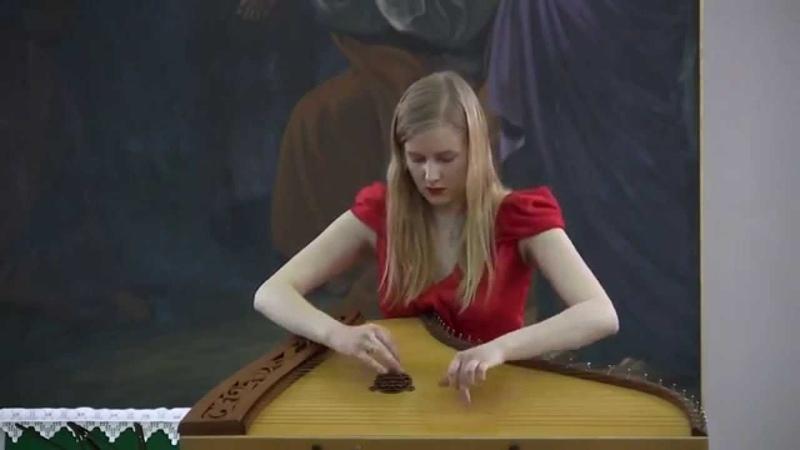 Гусли Ольга Глазова сет в Соборе Gusli Olga Glazova