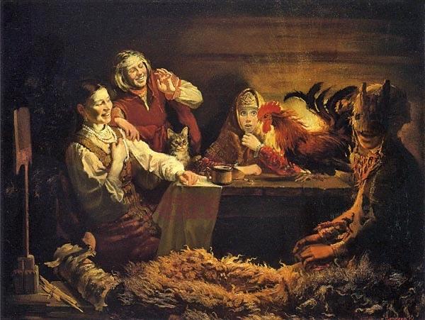 Святки традиции, приметы и обычаи Святки начинаются 6 января (в канун Рождества, на Коляду, с момента восхождения на небе первой звезды) и заканчиваются 18 января (в Крещенский сочельник, после