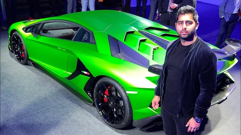 Lamborghini Aventador SVJ REVVING *LOUD* at European Preview!!