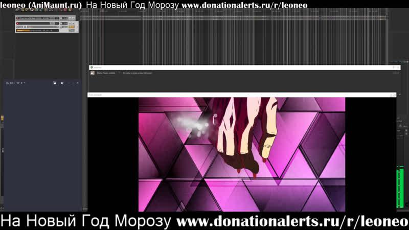 LIVE озвучка от Animaunt.ru 28 - Джо Джо Золотой ветер 15 www.donationalerts.rurleoneo
