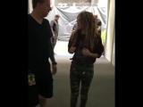 Shakira entrando nello stadio a Guadalajara. #ElDoradoWorldTour #ShakiraGuadalajara