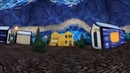 360° View Vincent Van Gogh's Starry Night