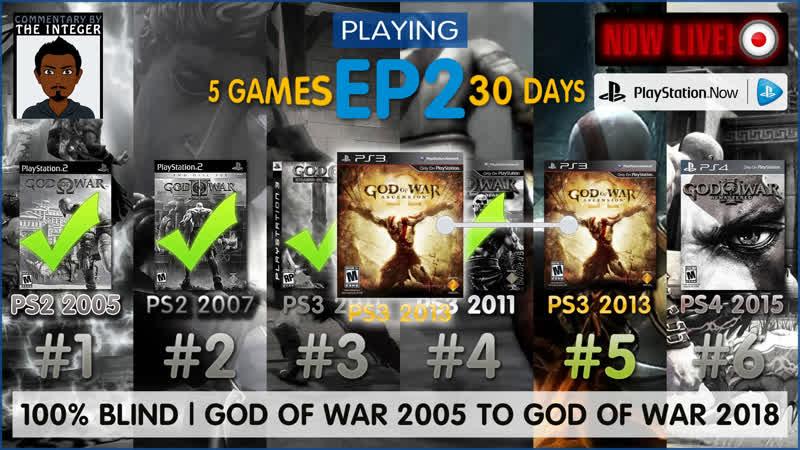 God of War: Ascension EP2 | 6 GodofWar games 20 days left 100% Blind