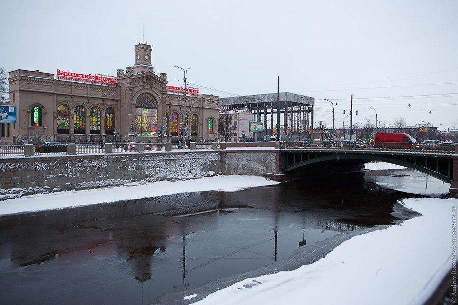 Обводный канал Варшавский вокзал