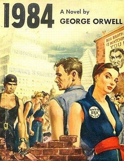 1984 propaganda For two years, between 1941 and 1943, novelist and essayist george orwell  worked for the ministry of information as a bbc talks producer for.