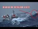 Begini Perjuangan Kapal Besar Yang Terjebak Badai Di Laut
