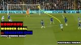 Vincent Kompany title deciding GOAL vs Leicester City WHAT A GOAL!
