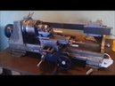 Torno de Bancada Construção Parte 04 Bench Lathe