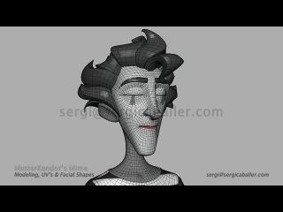 Sergi Caballer - Modeling Timelapse MasterKandor's Mime