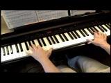 Brahms Lullaby - Piano  ( Брамс  ,,Колыбельная