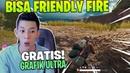 GRATIS GRAFIK ULTRA DAN BISA FRIENDLY FIRE BURUAN COBAIN PUBG LITE
