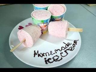 Как приготовить мороженое дома очень просто. Видео рецепт