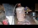 Мангал из газового балона класс