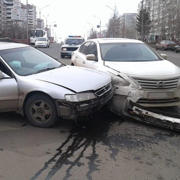 Усть-Илимск. ДТП