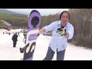 У нас лето, а ребята в Японии еще катают на последнем снежке на сноускуте. / Gaman's Snowscoot Diary