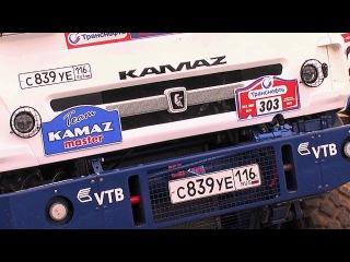 Тест-драйв для прессы на гоночных грузовиках команды