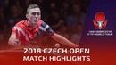 Dimitrij Ovtcharov vs Liam Pitchford   2018 Czech Open Highlights (1/4)