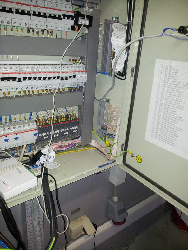 Монтаж автоматики