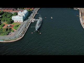 Легендарный крейсер `Аврора` направляется в Кронштадт на ремонт - Первый канал