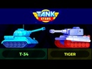 TANK STARS T 34 VS TIGER gameplay