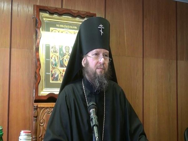 Лекция архиепископа Сумского и Ахтырского Евлогия, Сумы 04.03.2015
