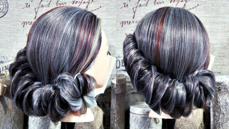 Hairstyle 10 minutes | Retro style | Hairstyles by REM | Copyright ©