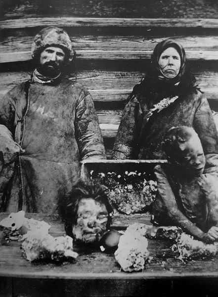 Каннибализм во время голода в Поволжье, 1921 г.