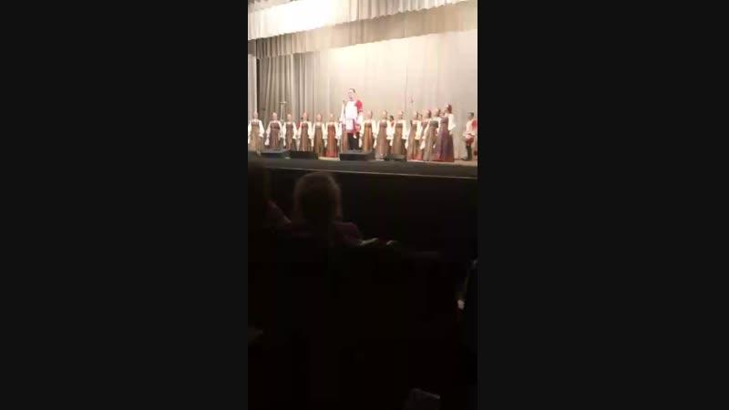 Над окошком месяц Рязанский хор в Кирове
