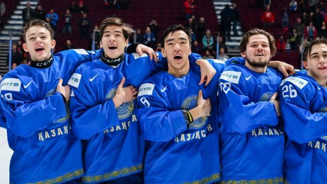 МЧМ-2019. Топ-дивизион. Дания - Казахстан (игра за выживание 2)