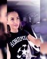 "Olga Buzova Design on Instagram: ""Наша прекрасная @annabuzova 💙. . . Футболки для мужчин и женщин: Размер: XS / S / M / L / ХL / ХХL Размеры: 40/..."