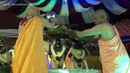 Radha Krishna and Vithal Rukmini Deity Abhishek by HH Lokanath Swami 2014