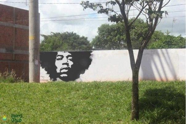 Крутое граффити. ) если надо, весь мир подстроится!