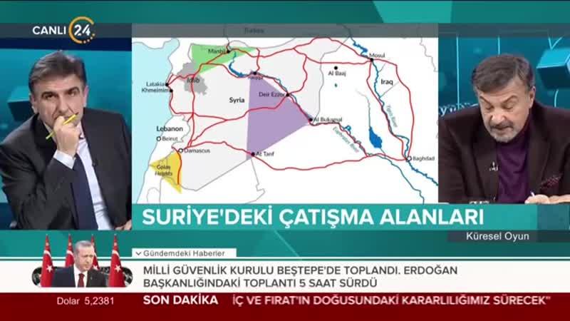 Selim Atalay ile Küresel Oyun (30.01.2019)
