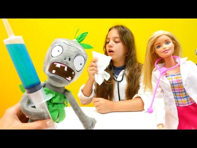 PjMasks, MonsterHigh Twyla ve Barbie oyuncakları. Doktoru kim iyileştirecek Doktoroyunu