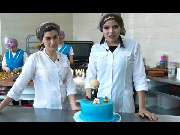 Мастер класс по приготовлению детского торта