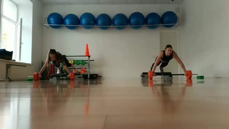 Алена Колдун / Workout_with_me