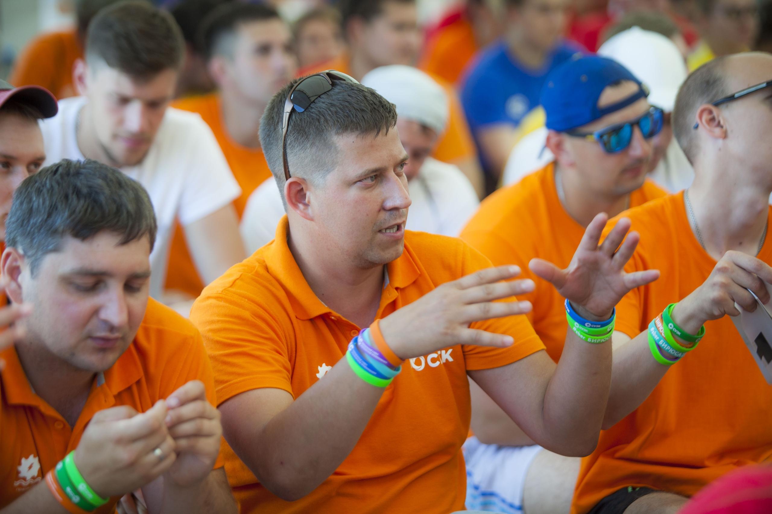Молодежь успела задаать более десятка вопросов генеральному директору СГК о перспективах развитии энергетики