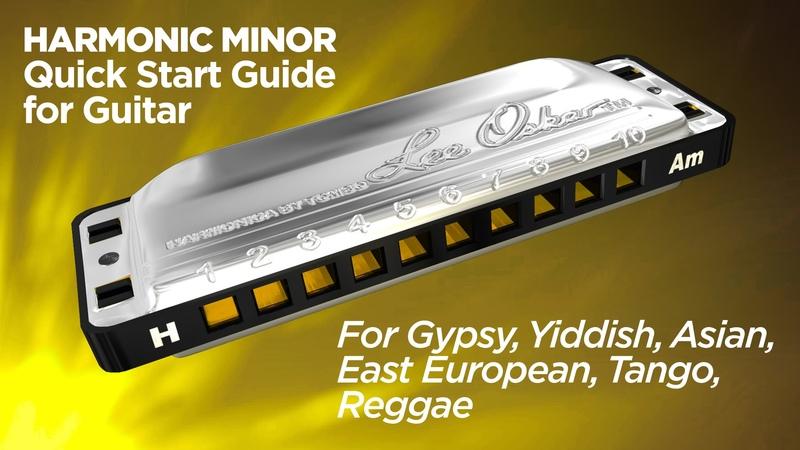 Lee Oskar QuickGuide - Harmonic Minor Harmonica For Guitar - Tango, Yiddish, Asian, Gypsy