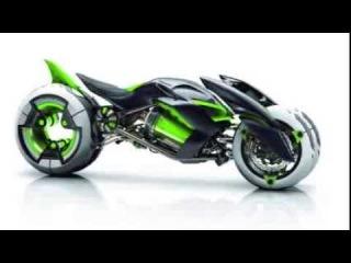2013 Kawasaki futuristic EV three wheeler J Concept 34rd Tokyo Motor Show first photos